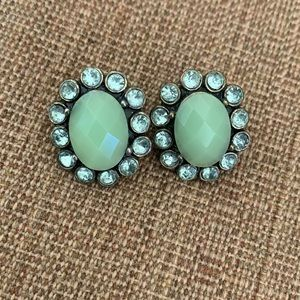 JCrew Factory Light Green Earrings